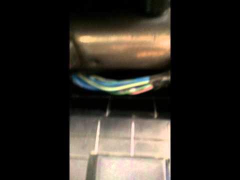 Dodge Ram 1500 heater low air flow fix.