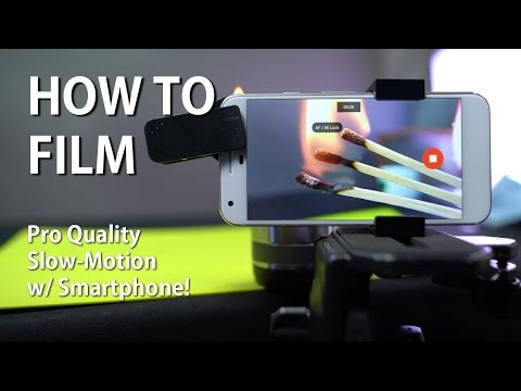 How to Film Pro Quality Slow Motion Video w/ Smartphone!