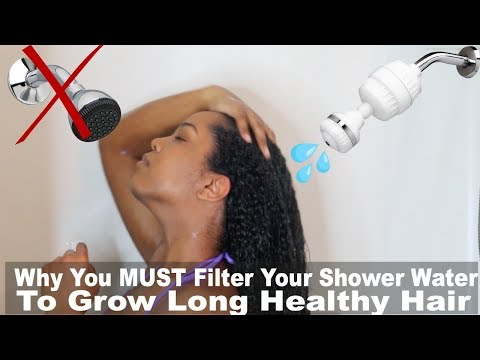 Is Your Shower Water Killing Your Hair Growth | Shower Filter | Natural Hair