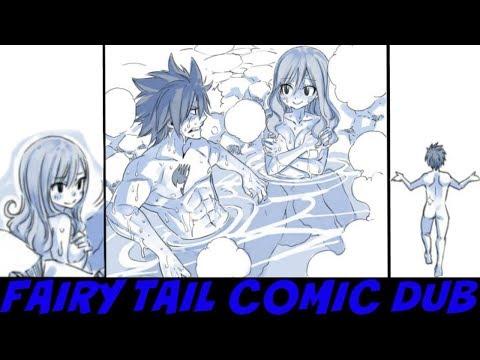 [FAIRY TAIL COMIC DUB] (Gray & Juvia Spa Date Comic) By Hiro Mashima