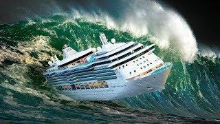 ¿Qué le sucede a un crucero en una tormenta?
