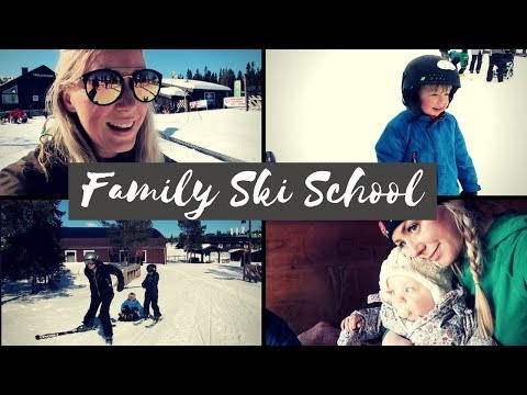 WEEK IN THE LIFE  | Family Ski Holiday for beginners In Sweden |  SJ STRUM