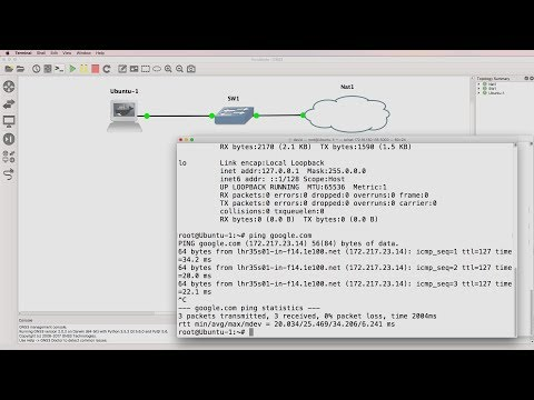 GNS3 Talks: Docker Ubuntu container not getting DHCP IP address (Part 1 - MAC). Troubleshooting GNS3