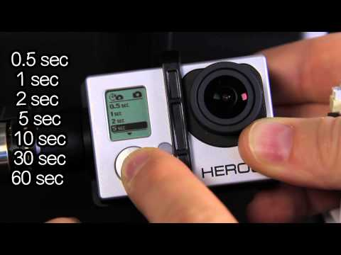 How to Set Up Photo Time Lapse on Hero3+ - GoPro Tip #321