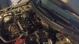 Чистим двигатель с помощью Shumma на Mitsubishi Lancer 10