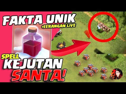 FAKTA UNIK & SERANGAN SPELL SANTA! - Coc Indonesia