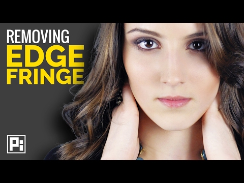 Selecting Hair in Photoshop CC 2017 #2   Removing Edge Fringe