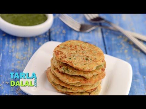 Bulgur Wheat Pancake (Calcium & Protein Rich Recipe for Pregnancy) by Tarla Dalal