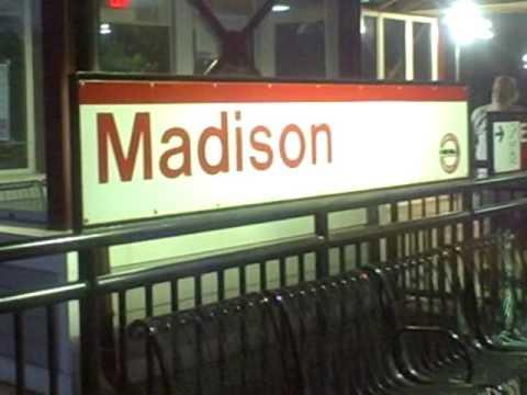 Amtrak Northeast Regional & Shoreline East Trains At Madison, CT- 7/22/16