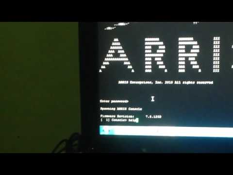 ARRIS FACTORY MODE CERTS GLMALLDAMNDAY  New Channel