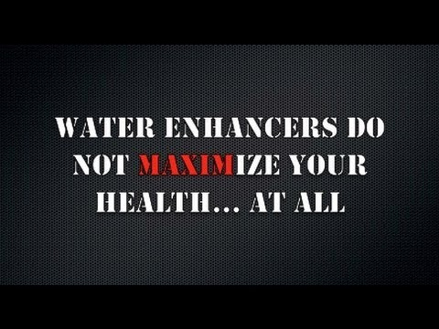 Water Flavour Enhancers Do Not Promote Health