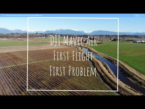 Mavic Air First Flight With One Annoying Observation