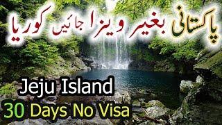 South Korea Visa Free For Pakistani Jeju Island 30 Day Free Visa Urdu Hindi