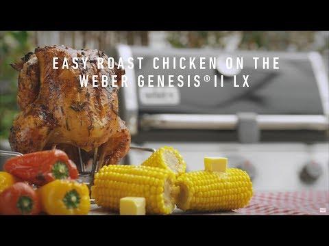 Easy Roast Chicken on the Weber Genesis® ll LX