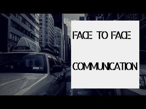 Face to Face Communication in Business with Darren Jacklin