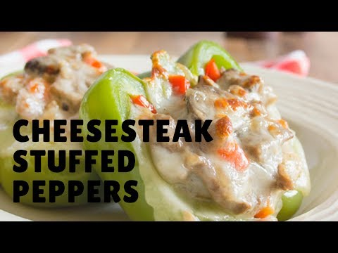 How to make Cheesesteak Stuffed Peppers updated 2017
