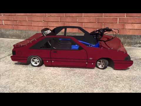 Fox Mustang Go Kart Body