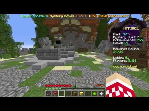 MYSTERY BOX OPENING l Hypixel Mystery Boxes Being Opened