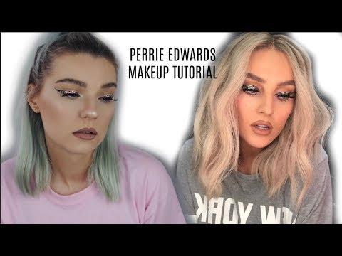PERRIE EDWARDS GLITTER MAKEUP TUTORIAL | LoveFings