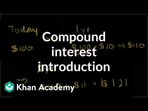 Compound interest introduction | Interest and debt | Finance & Capital Markets | Khan Academy