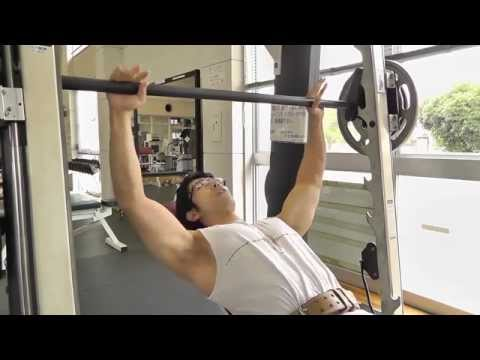 How To Build A  Big Upper Chest:  Smith Machine Incline Bench Press (Proper Form = Results)