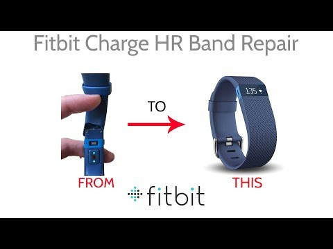 Fitbit Charge HR Wristband Band Replacement Repair