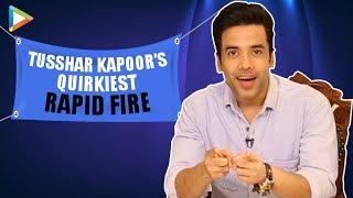 "Tusshar Kapoor: ""Kya Kool Hain Hum Needs a Reboot!"" | Kareena Kapoor | MASALEDAAR Rapid Fire"