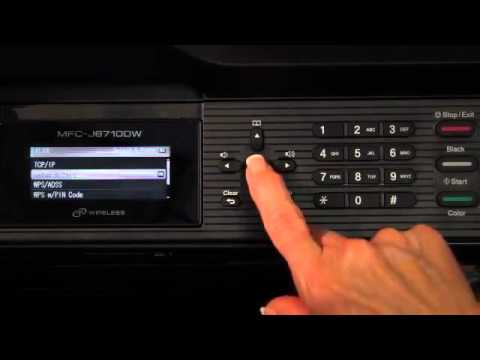 How to Set Up Wireless for the Brother™ MFC-J6710DW Printer