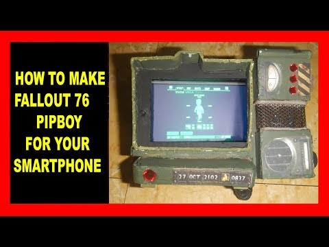 HOW to MAKE: FALLOUT 76 PIPBOY with Cardboard!