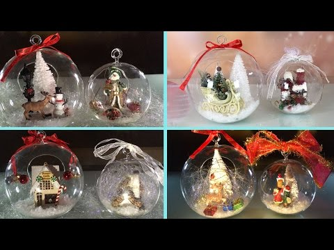 DIY: Clear Glass Ornaments for Christmas and New Year ➻4A
