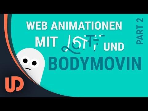 EINFACHE Web Animation mit After Effects(BODYMOVIN) & LOTTIE! Part #2 [TUTORIAL]