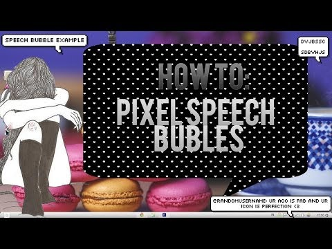 How to Make A Pixel Speech Bubbles (Fast & EASY)
