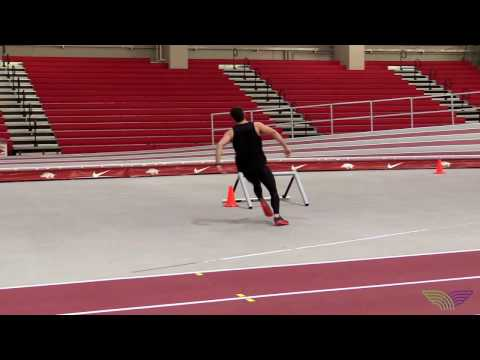 HOW TO HIGH JUMP - Circle Drills Circle Hurdle Pops Low