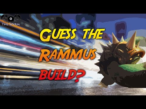 This Armadillo has a HIDDEN SECRET? FT. What Build? Fastest Rammus Speed in League of Legends??