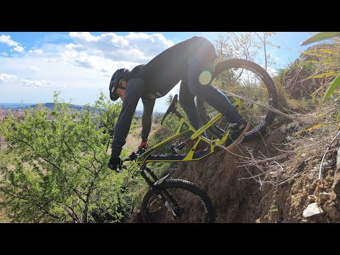 BARCELONA MOUNTAIN BIKE TRAILS RIDE // YT INDUSTRIES CAPRA - Bienvenido Aguado