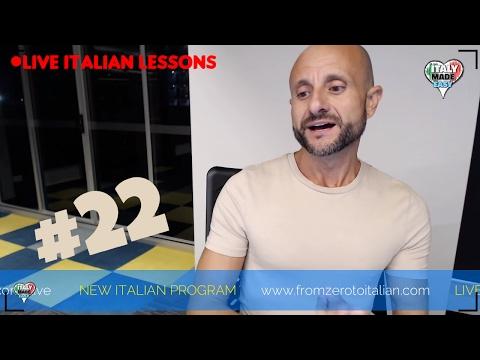 Practice Intermediate Italian Comprehension and Conversation: Learn Italian Online LIVE [IT]