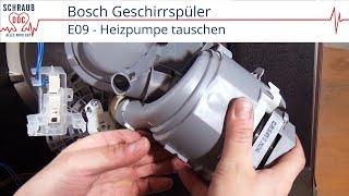Siemens Dishwasher E23 - Bosch Dishwasher E23 - Dishwasher Error