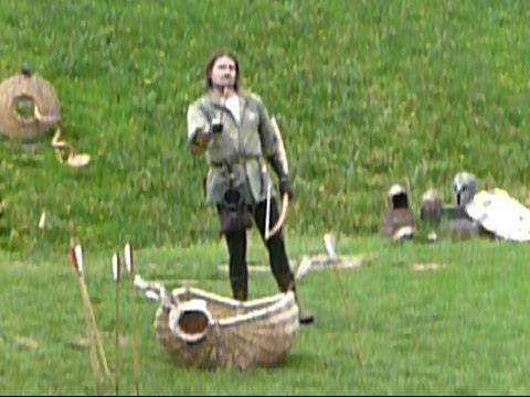 Archer skills at Warwick Castle