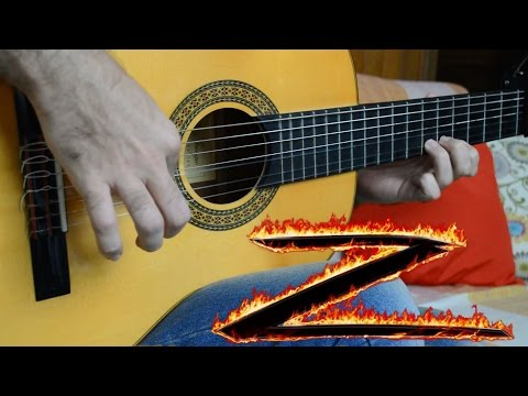 The Mask of Zorro theme - Fingerstyle Guitar (Marcos Kaiser) #102