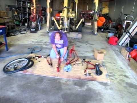 Assembling the swing bike - part 1