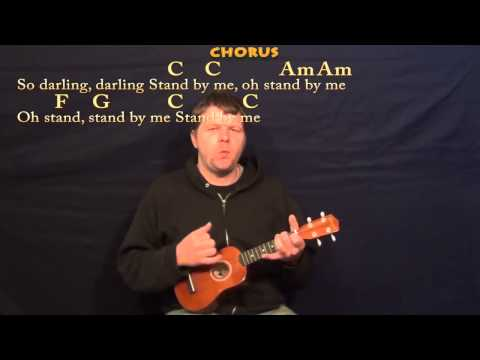 Stand By Me (Ben E King) Easy Ukulele Cover Lesson in C with Lyrics/Chords