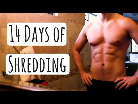 THE WEIGH IN - 14 Days of Shredding RESULTS