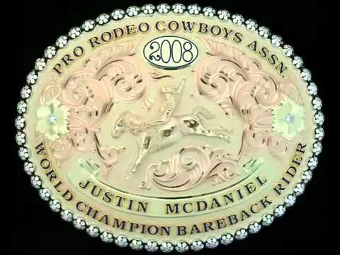 2008 PRCA TRIBUTE WORLD CHAMPION COWBOYS & BUCKLES