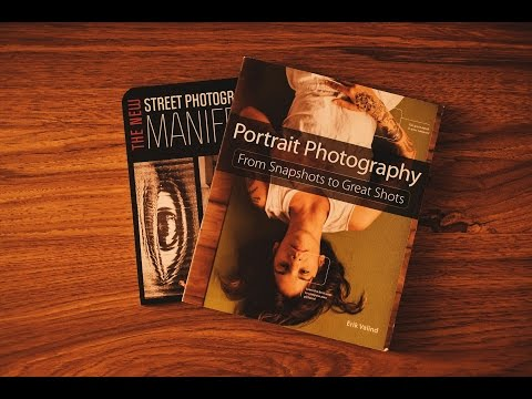 My photography books recommendation for portraits and lighting