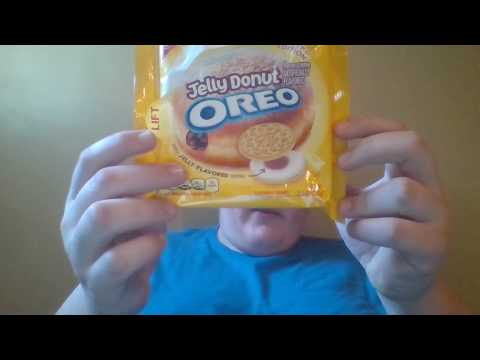Jelly Filled Donut Oreos Review