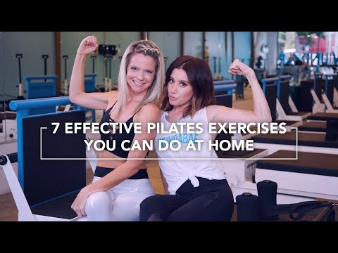 Work It Out: New Year, New Work Out! 7 Effective Pilates Exercises You Can Do at Home
