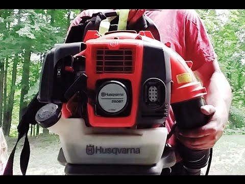 HUSQVARNA 350bt Back Pack Blower