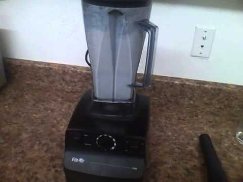 How to make Almond Milk in the Vitamix.