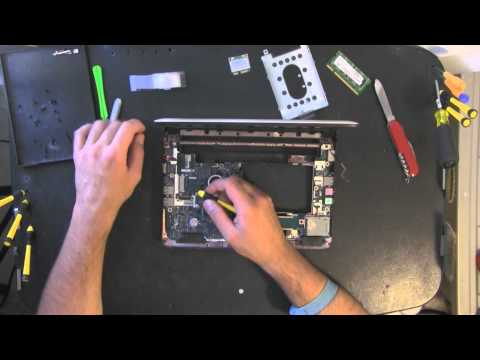 ACER ASPIRE NAV50 take apart video, disassemble, how to open disassembly