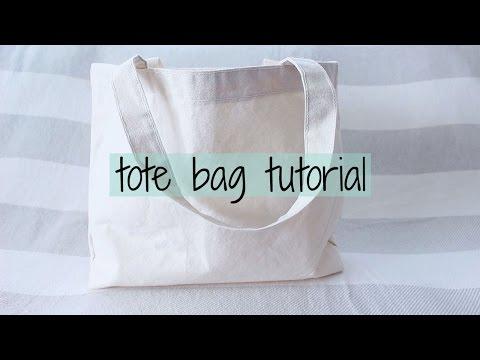 Tote Bag Tutorial